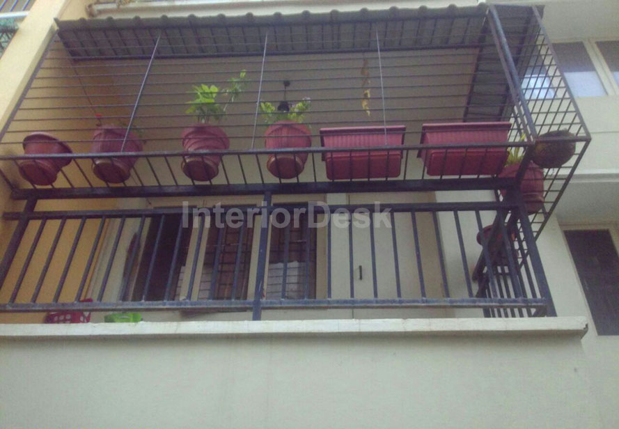 balcony safety grill