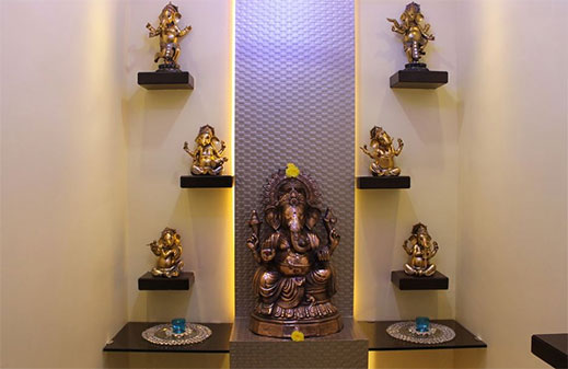Prayer Unit Pooja Room Designers In Bangalore