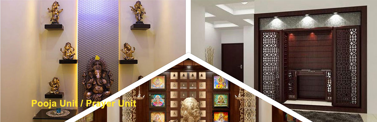 Prayer Unit / Pooja Room designers in Bangalore